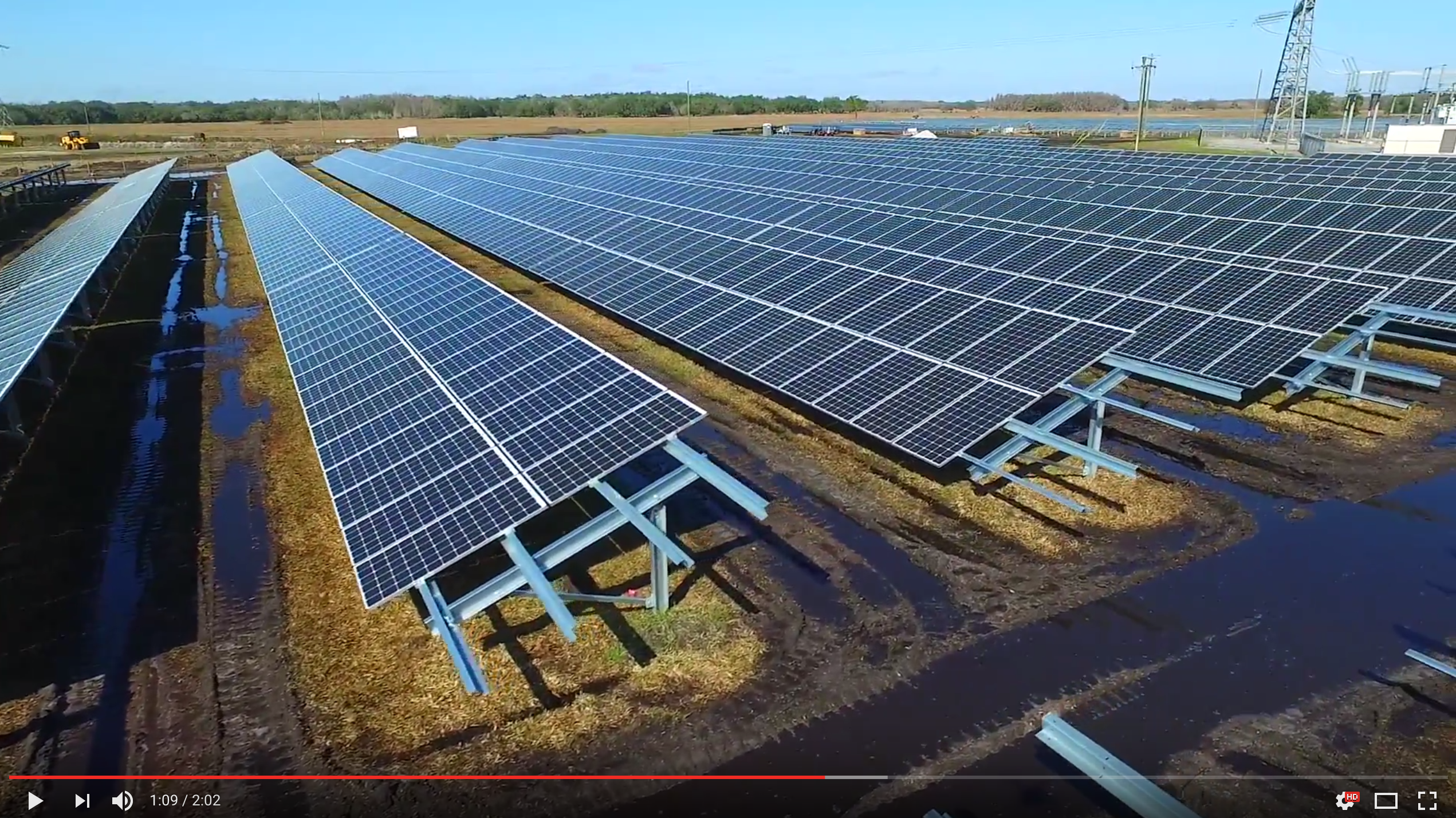 Florida Solar Power Plant Brings More Clean Energy To The